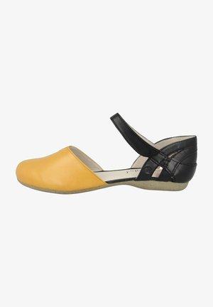 FIONA - Ballet pumps - yellow combi