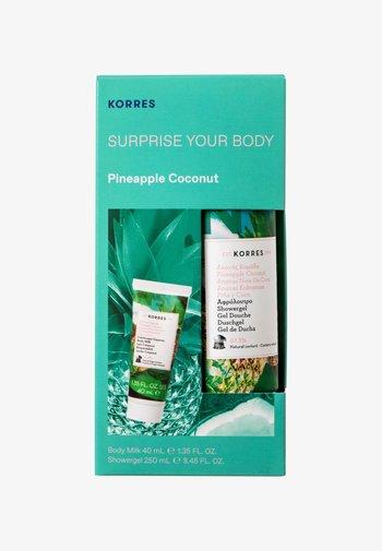PINEAPPLE COCONUT SURPRISE YOUR BODY SET