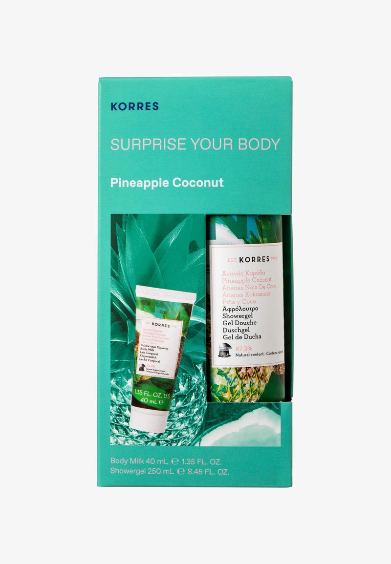Korres - PINEAPPLE COCONUT SURPRISE YOUR BODY SET - Bath and body set - -