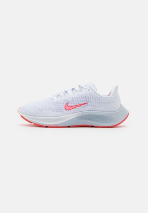 AIR ZOOM PEGASUS 37 VT - Neutral running shoes - white/sunset pulse/bright crimson