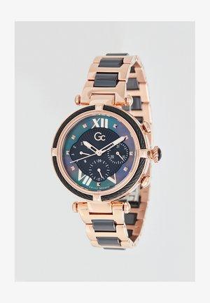 SPORT CHIC COLLECTION - Horloge - ladies rose gold/black