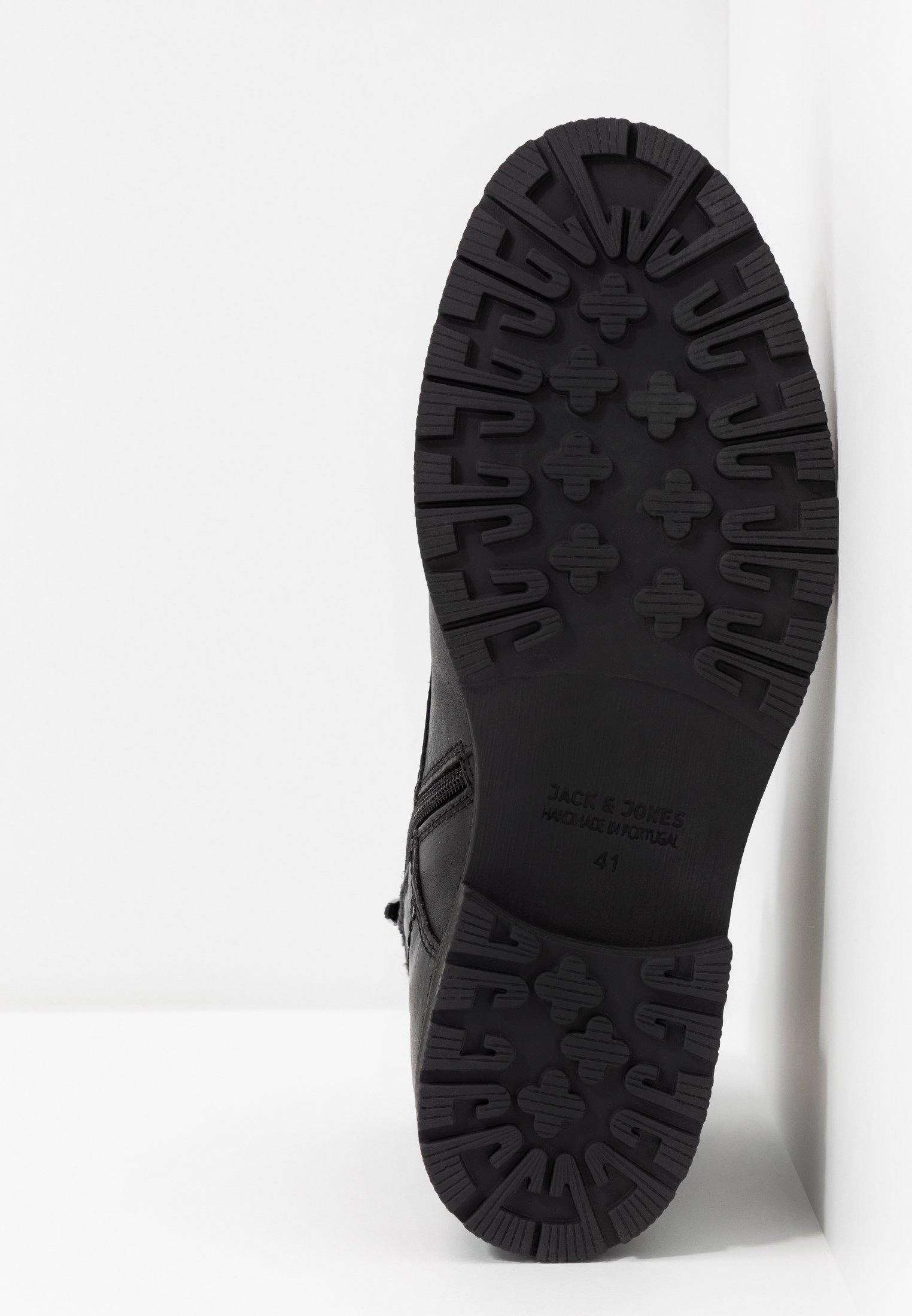 Meilleurs prix Jack & Jones JFWMARLY Bottines à lacets black