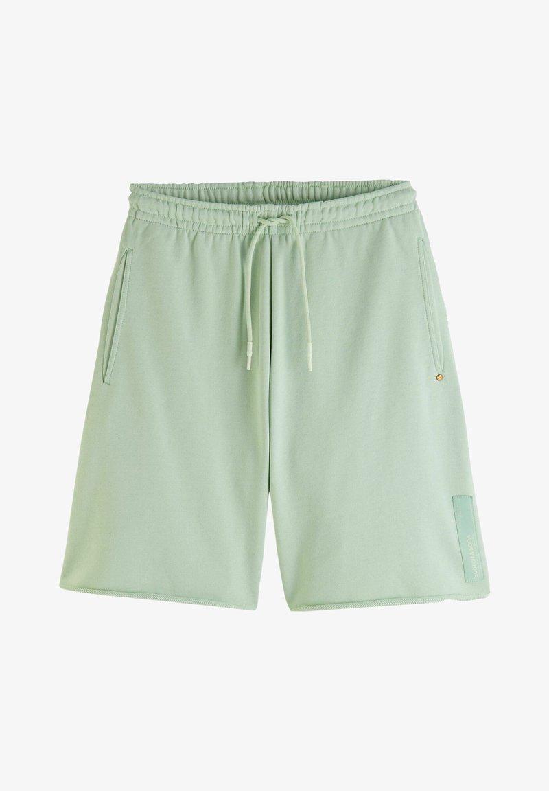 Scotch & Soda - SEASONAL FIT  CLASSIC FELPA  - Pantaloni sportivi - seafoam
