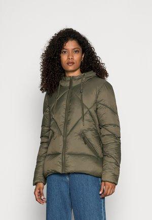 LIGHT PUFFER - Winter jacket - dark khaki