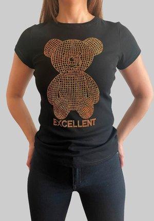 OSO PIEDRAS - Camiseta estampada - black