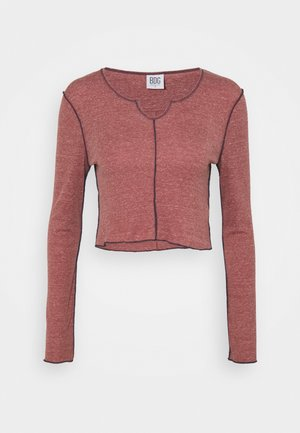 BABYLOCK CUTOUT - Long sleeved top - merlot