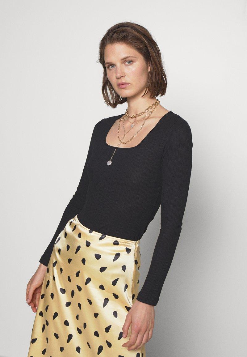 Carin Wester - RINA - Bluzka z długim rękawem - black