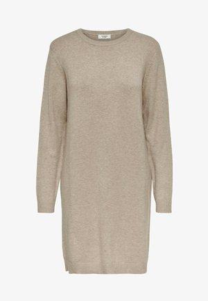 JDYMARCO DRESS - Gebreide jurk - beige