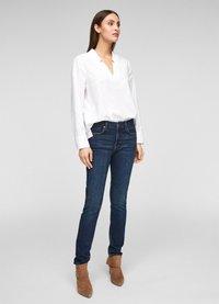 s.Oliver BLACK LABEL - Slim fit jeans - dark blue - 4