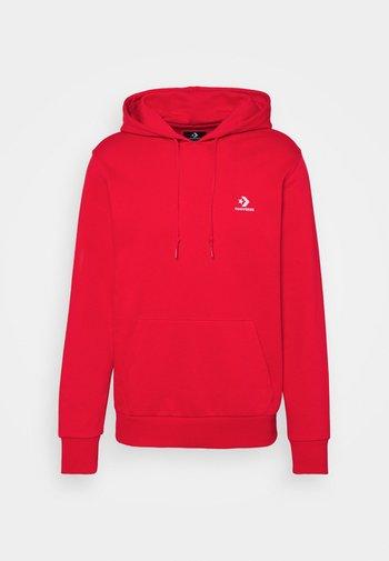 STAR CHEVRON FRENCH TERRY HOODIE - Sweatshirt - university red