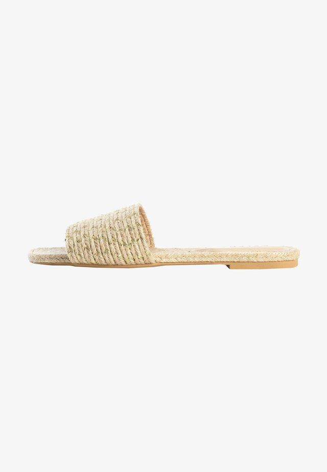 CATRIN - Pantoffels - beige