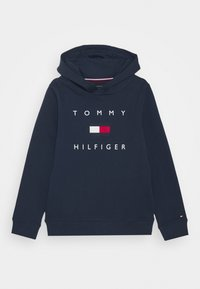 Tommy Hilfiger - LOGO HOODIE - Sweat à capuche - twilight navy - 0