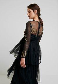 Maya Deluxe Maternity - EMBELLISHED BODICE MAXI DRESS - Maxikleid - black - 5