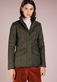 Barbour - POLARQUILT - Light jacket - dark olive - 0