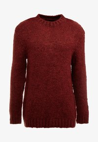 River Island - BOUCLE CREW - Jumper - rust - 4