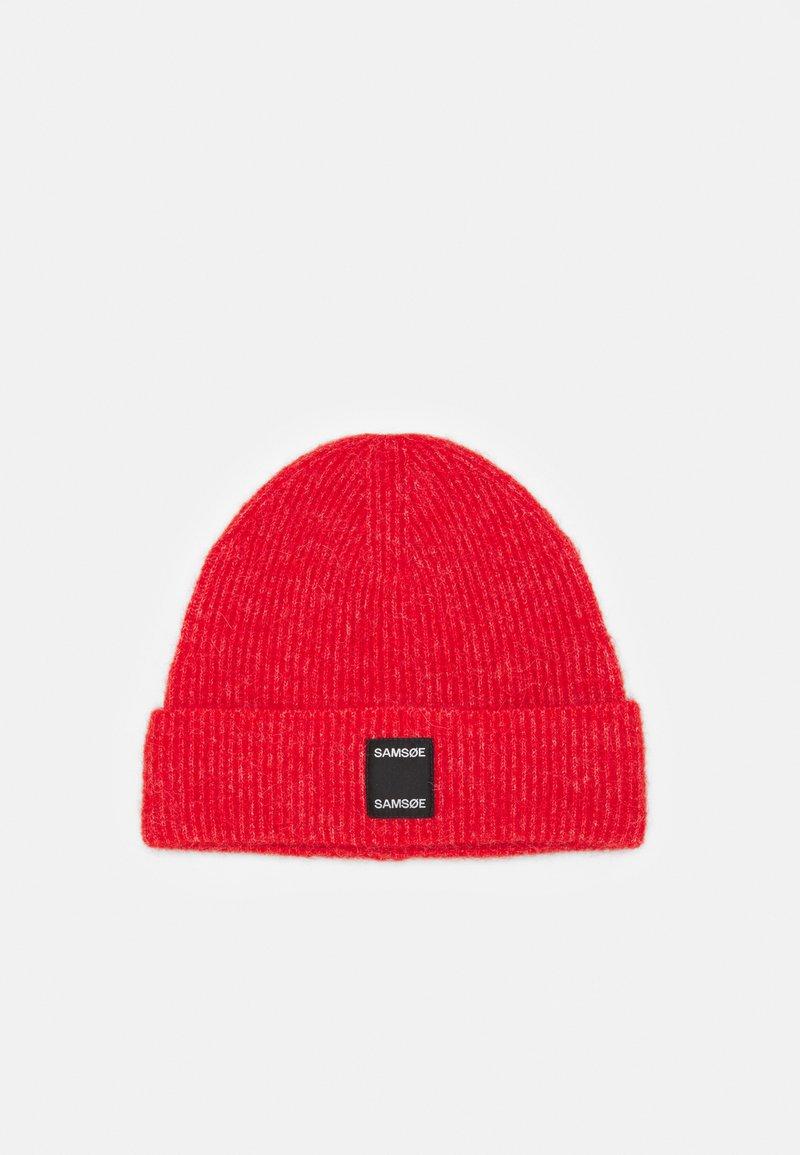 Samsøe Samsøe - BERNICE HAT - Lue - fiery red melange