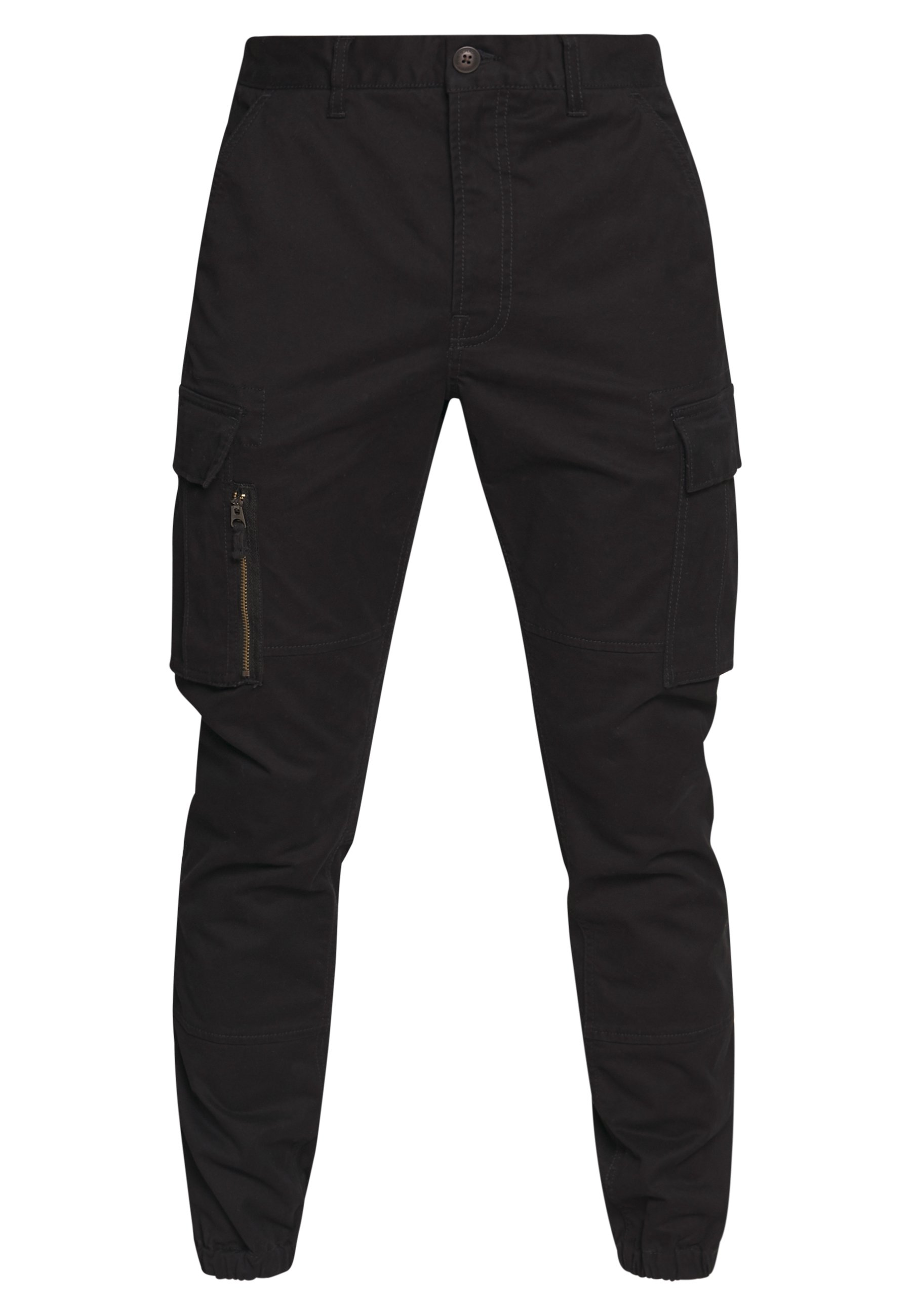 Superdry RECRUIT FLIGHT GRIP CARGO - Pantalon cargo - black