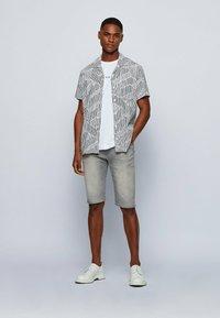 BOSS - Denim shorts - light grey - 1