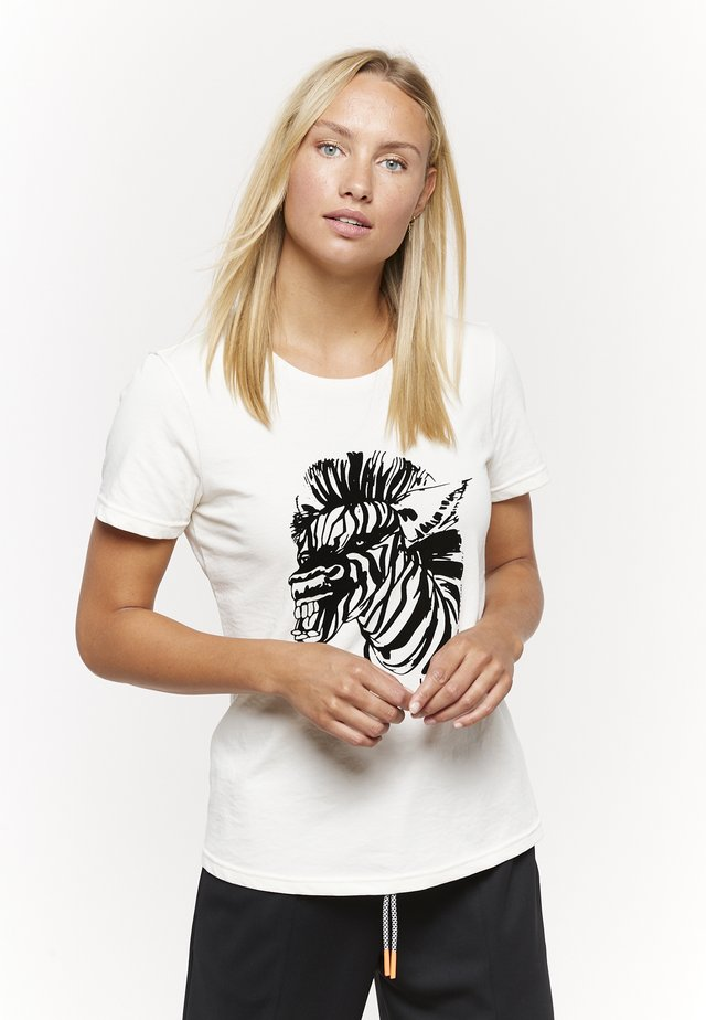 T-shirts print - weiß