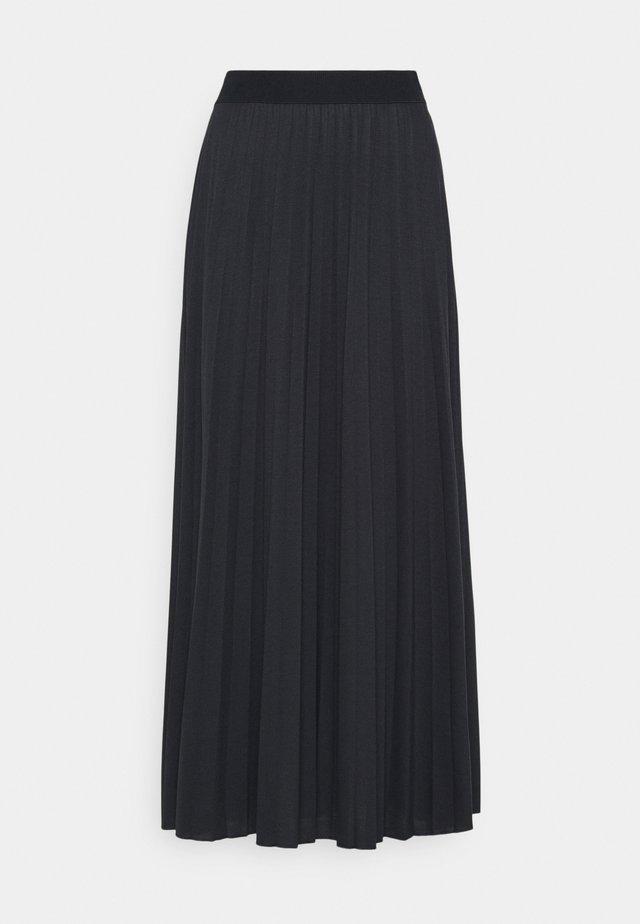Jupe plissée - dark blue