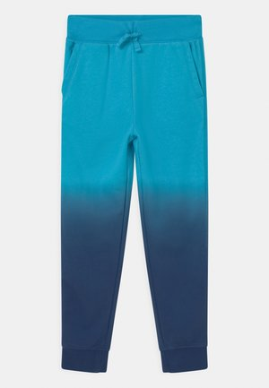 BOY DIP DYE  - Tracksuit bottoms - true cyan blue
