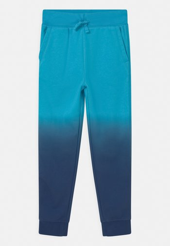 BOY DIP DYE  - Spodnie treningowe - true cyan blue
