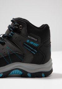 Hi-Tec - SHIELD WP - Trekingové boty - dark grey/black/lake blue - 2