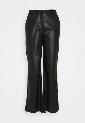 DINARA PANTS - Trousers - black