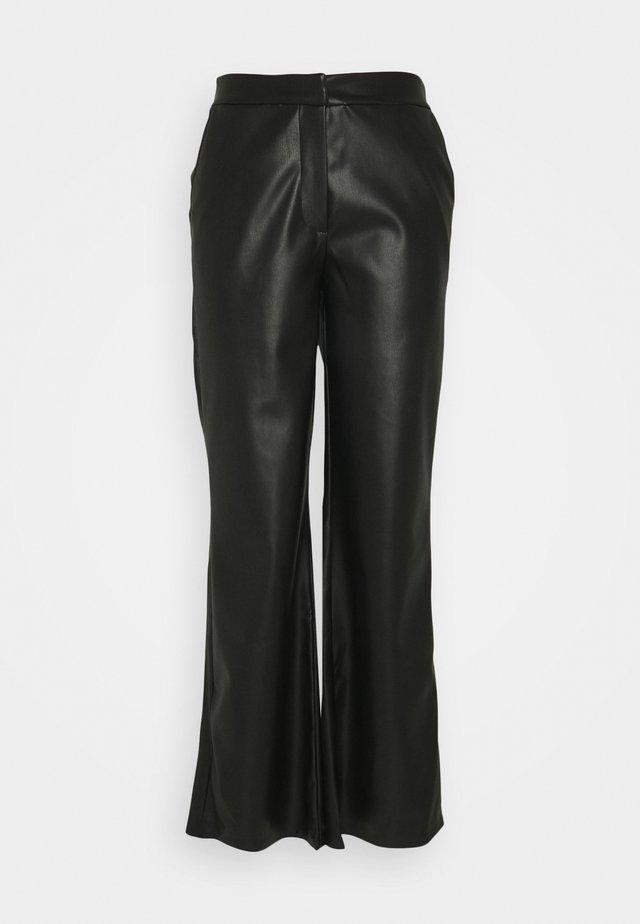 DINARA PANTS - Pantaloni - black