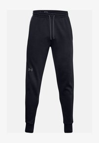 Under Armour - Tracksuit bottoms - black - 2