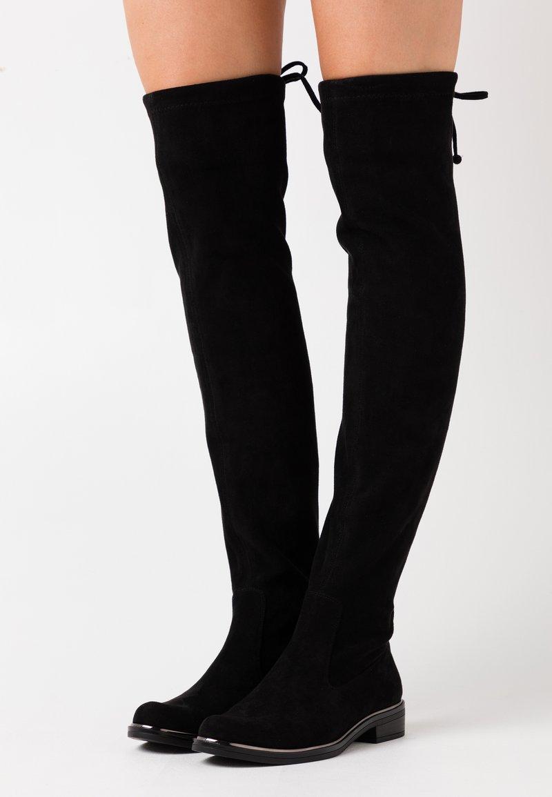 Caprice - Høye støvler - black