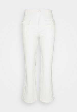 Flared Jeans - brilliant white