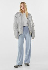 Bershka - Broek - light blue - 1