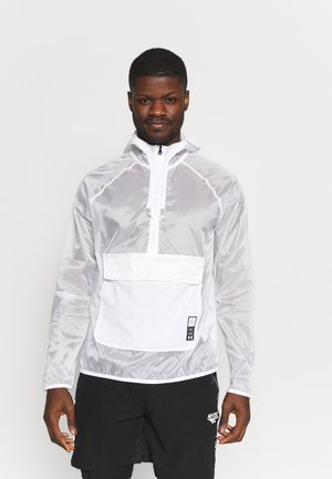 RUN ANYWHERE ANORAK - Löparjacka - white