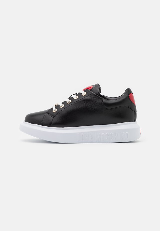 LOVE RUNNING - Sneakers basse - black