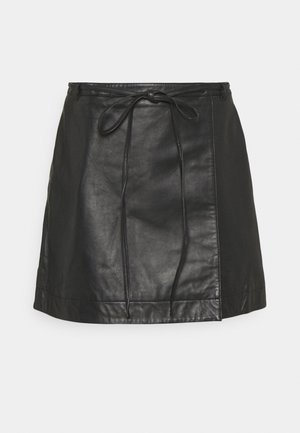 SLFRALLA SKIRT - Mini skirt - black