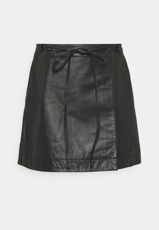 SLFRALLA SKIRT - Minijupe - black