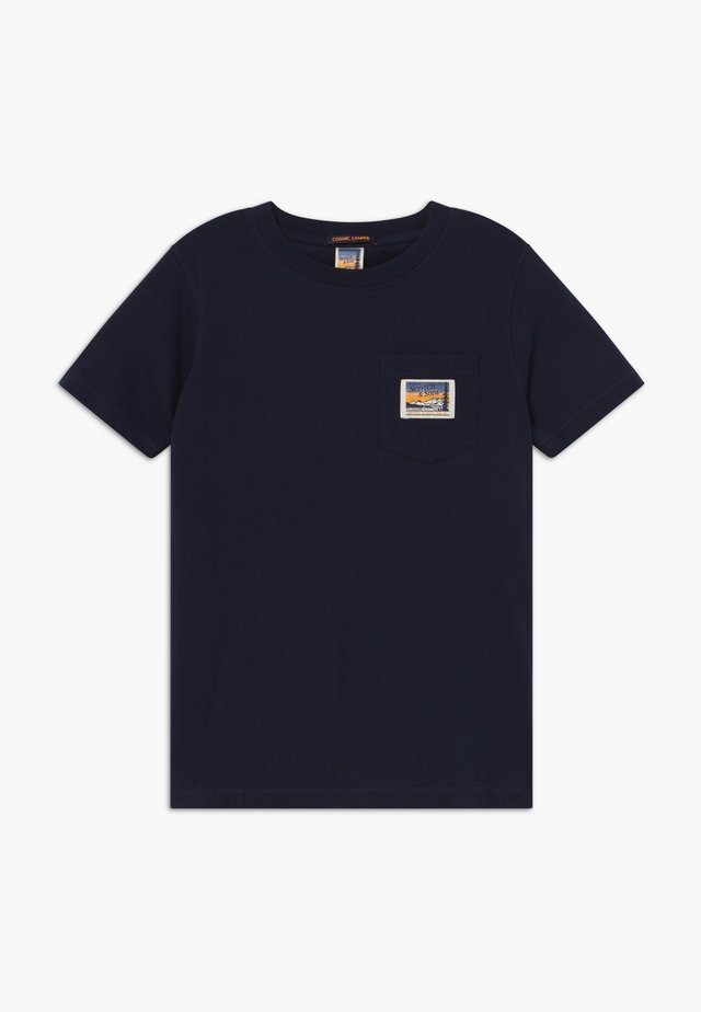 SHORT SLEEVE TEE WITH POCKET - T-shirts - night