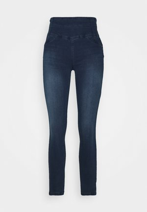 HIGH WAIST  - Skinny džíny - night blue wash