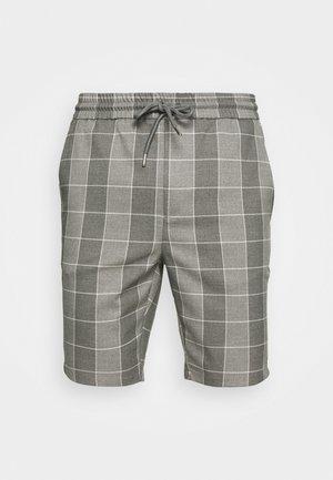 ONSLINUS CHECK - Shorts - medium grey melange