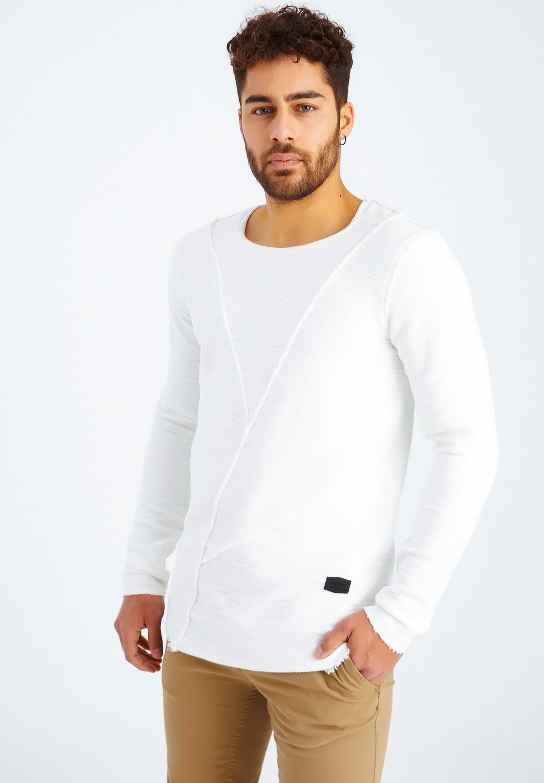 Herren RUNDHALS - Langarmshirt