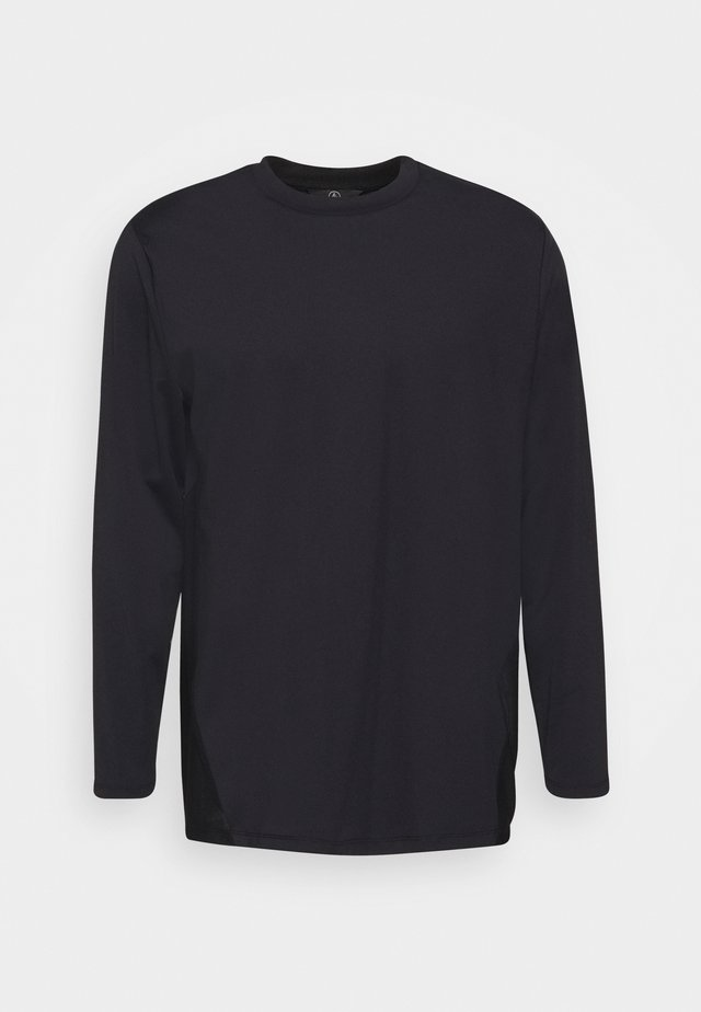 LONGSLEEVE CURVE - Long sleeved top - black
