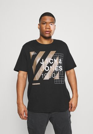 JCOMIGUEL TEE CREW NECK - Print T-shirt - black