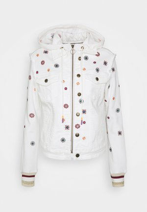 JULIETA - Denim jacket - white