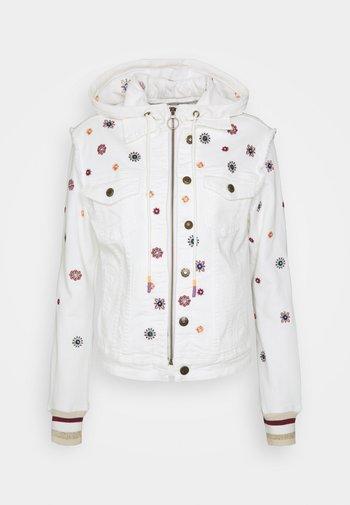 JULIETA - Denim jacket - white