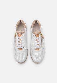 Gabor Comfort - Sneakers laag - weiß/champagne/natur - 2