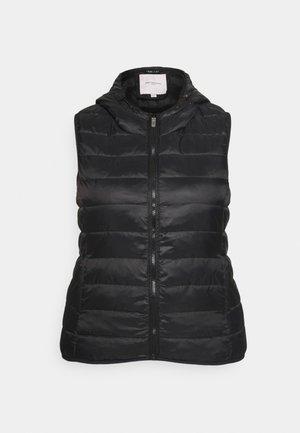 CARNEWTAHOE HOODWAISTCOAT - Waistcoat - black