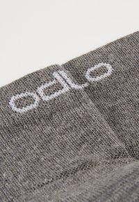 ODLO - SOCKS QUARTER ACTIVE 2 PACK - Sportovní ponožky - grey melange - 2
