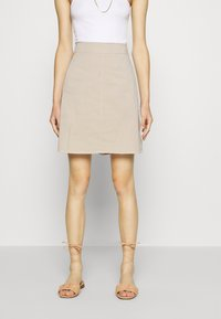 Marc O'Polo - A-line skirt - feather grey - 0