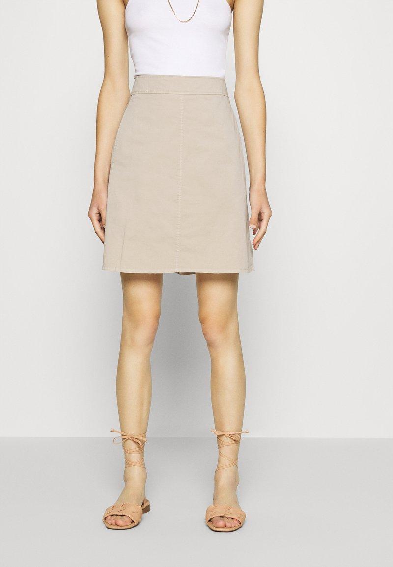 Marc O'Polo - A-line skirt - feather grey